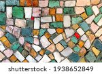 Multicolored Mosaic With Small...