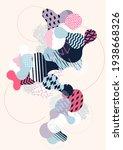 abstract modern geometric... | Shutterstock .eps vector #1938668326