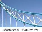 Small photo of A Tower Bridge suspension girder, London.
