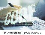 creative code word hologram and ...