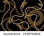 seamless decorative baroque...   Shutterstock .eps vector #1938743836