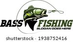 Largemouth Bass Fishing Logo....