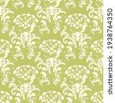 damask seamless vector pattern. ...   Shutterstock .eps vector #1938764350
