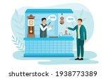 seller and buyer negotiate... | Shutterstock .eps vector #1938773389
