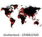 world map of coronavirus... | Shutterstock .eps vector #1938812560