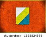 grunge flag of abruzzo italy  | Shutterstock . vector #1938824596