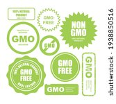 gmo free stamps  stickers and...   Shutterstock .eps vector #1938850516