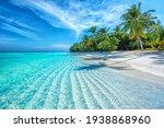Maldives Islands Ocean Tropical Beach