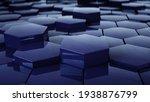 abstract hexagon geometric... | Shutterstock . vector #1938876799