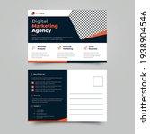 business postcard template...   Shutterstock .eps vector #1938904546