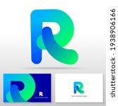 letter r logo design   abstract ... | Shutterstock .eps vector #1938906166