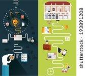 set of concept solution for web ...   Shutterstock .eps vector #193891208