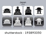 adobe,antique,bowl,buddha,buildings,city,columns,culture,flat,great,heritage,himeji,historical,icons,isolated