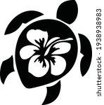 black tortoise vector... | Shutterstock .eps vector #1938938983