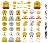 rankings icon | Shutterstock .eps vector #193893920