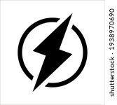 glyph energy pixel perfect...   Shutterstock .eps vector #1938970690