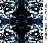 Boho Tie Prints. Blue...