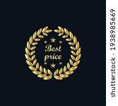golden laurel wreath. best...   Shutterstock .eps vector #1938985669