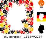 german map subtraction mosaic... | Shutterstock .eps vector #1938992299