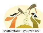 illustration of women do... | Shutterstock .eps vector #1938994129