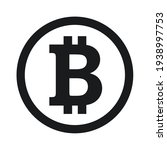Bitcoin Icon Sign Payment...