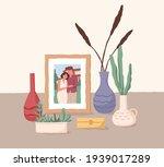 framed photo of love couple....   Shutterstock .eps vector #1939017289