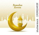 ramadan kareem greeting... | Shutterstock .eps vector #1939024939