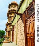 The beautiful architecture of The Mohatta Palace, Karachi, Pakistan