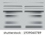set of realistic transparent...   Shutterstock .eps vector #1939060789
