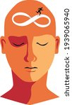 human  head with a symbol of...   Shutterstock .eps vector #1939065940