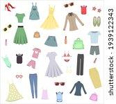 vector illustration collection... | Shutterstock .eps vector #1939122343