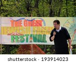 Small photo of TORONTO � MAY 18: The member of Parliament James Pasternak at Lag B�Omer celebration in Earl Bales Park in May 18, 2014 in Toronto, Canada.
