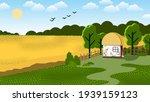 traditional ukrainian house... | Shutterstock .eps vector #1939159123