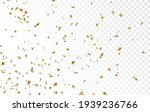 gold confetti banner  isolated...   Shutterstock .eps vector #1939236766