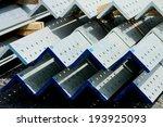 hot dip steel galvanized bunch... | Shutterstock . vector #193925093