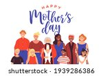 happy mothers day card... | Shutterstock .eps vector #1939286386