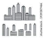 vector set of icons from the...   Shutterstock .eps vector #1939287466