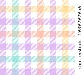 gingham check plaid pattern... | Shutterstock .eps vector #1939292956