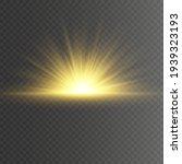 special design of sunlight or... | Shutterstock .eps vector #1939323193