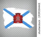 flag of  rio de janeiro city...
