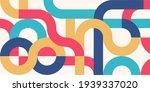 geometry minimalistic artwork... | Shutterstock .eps vector #1939337020