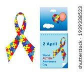 symbols of world autism...   Shutterstock .eps vector #1939338523