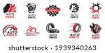 vector logo of car parts  auto... | Shutterstock .eps vector #1939340263