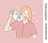 skin care  beauty concept...   Shutterstock .eps vector #1939357603