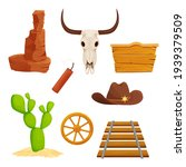 wild west set  collection of...