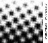 black halftone background with... | Shutterstock .eps vector #1939401319