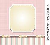 cool template frame design for... | Shutterstock .eps vector #193940876
