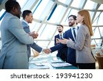 group of business people... | Shutterstock . vector #193941230
