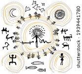 Drawings Of Primitive People....