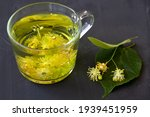 Close Up Linden Flowers Tea.cup ...